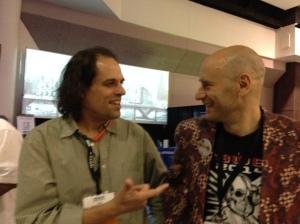 Rob Lindeman & AWE2014 Keynote Ori Inbar