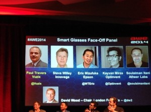 AWE2014 Smart Glass Face-Off Session of Key Players