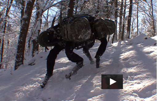 Boston Dynamics' BigDog VIDEO