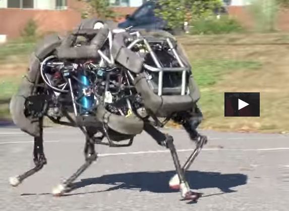 Boston Dynamics' WildCat VIDEO