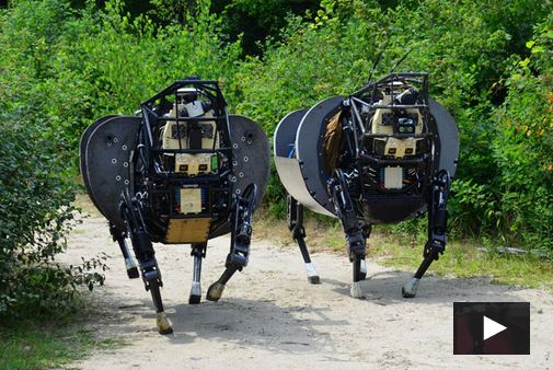 Boston Dynamics' LS3 Robot VIDEO