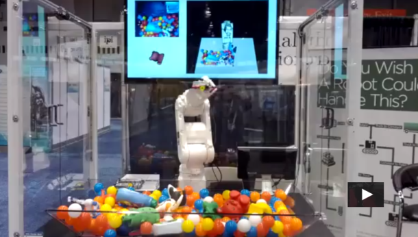 Industrial Perception's Robotic Arm Sees, Plans, & Models in 3D VIDEO