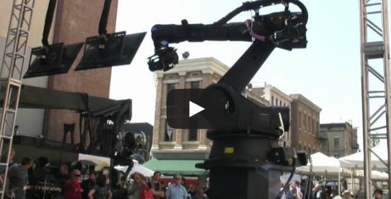 Bot & Dolly's IRIS Robotic Motion Control Camera System VIDEO