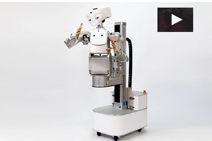 Meka's M1 Mobile Manipulator, a $340,000.00 Robotic Humanoid VIDEO