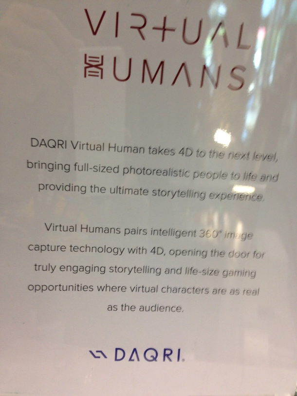 Explanation of 4D Virtual Humans