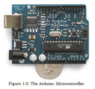 Figure 1.0: The Arduino Microcontroller