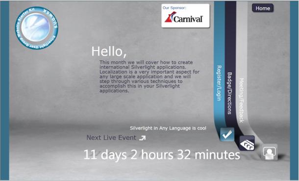 Countdown to Next Meeting