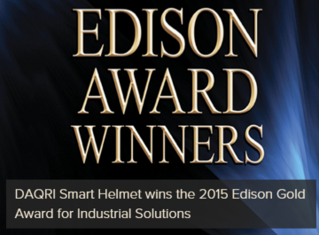2015 Edison Gold Award for Industrial Solutions
