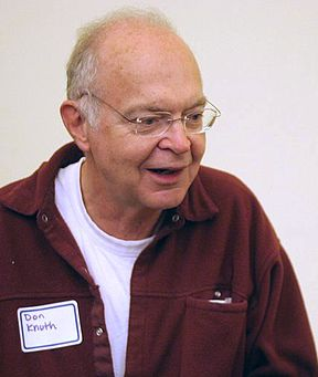 "Don Knuth, Computer Scientist, Mathematician, Professor Emeritus at Stanford University, Author of the Multi-Volume Work ""The Art of Computer Programming"""