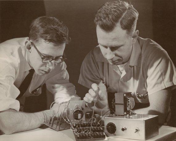 Frank Rosenblatt and Charles W Wightman