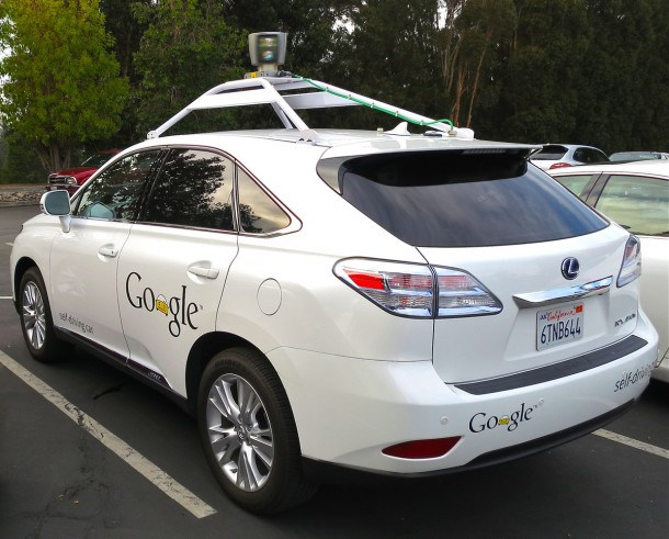 Google's Lexus RX 450h